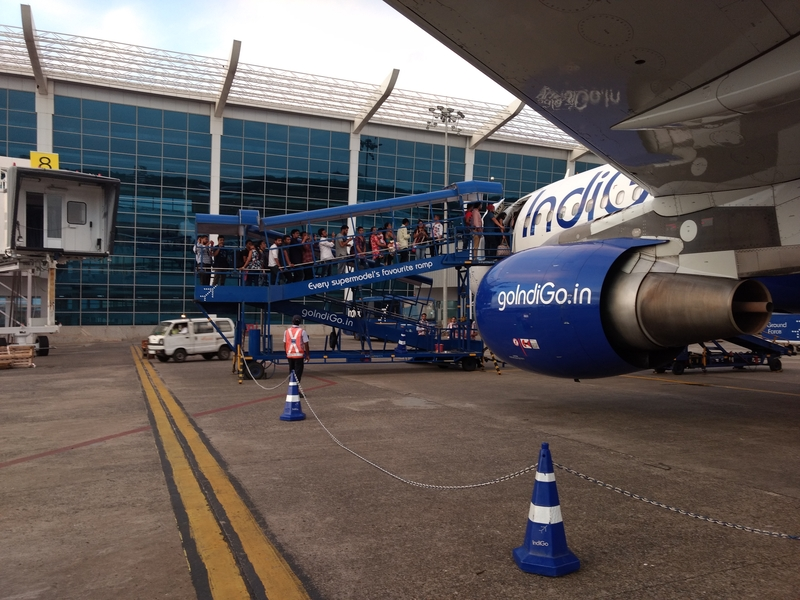 Goa Airport is located 30 km from Panaji.